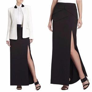 BCBG MAX AZRIA Beverly Peplum Long Skirt